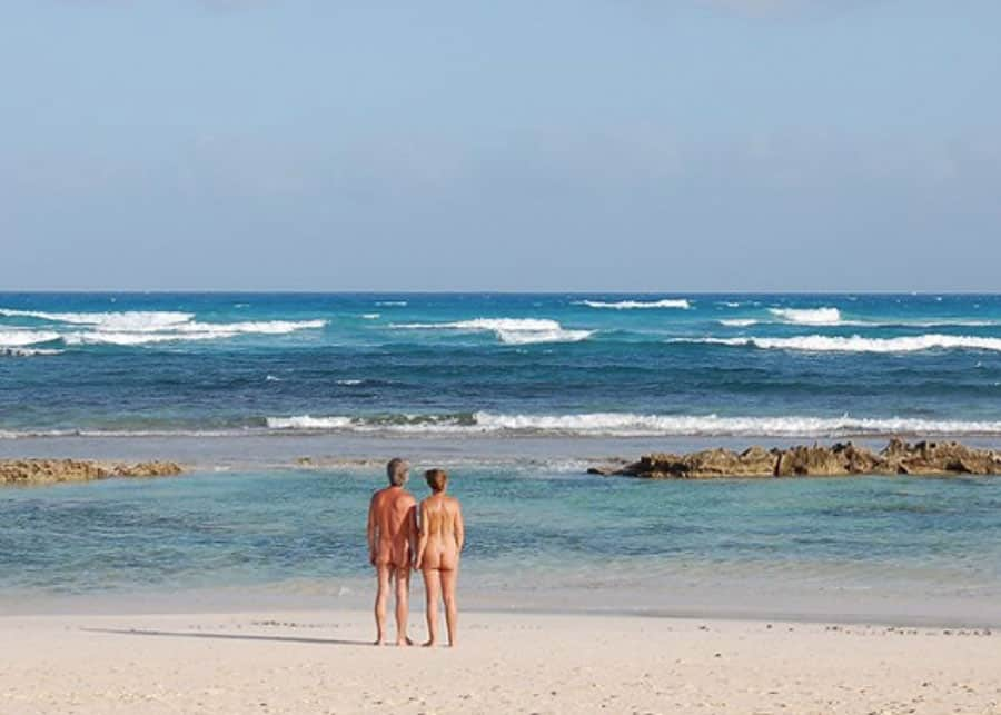 Nude beach in Kauai