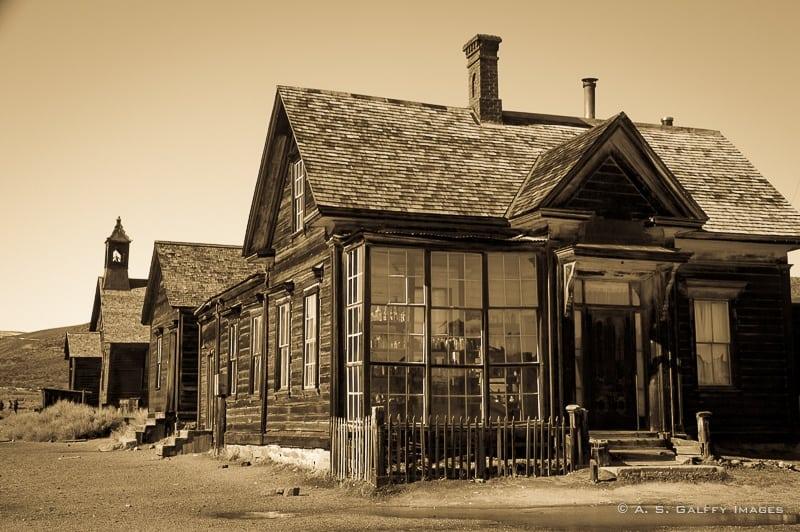 Bodie, the Eastern Sierra's Ghost Town