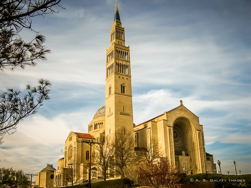 The Weekly Postcard: Basilica of the National Shrine in Washington D.C.