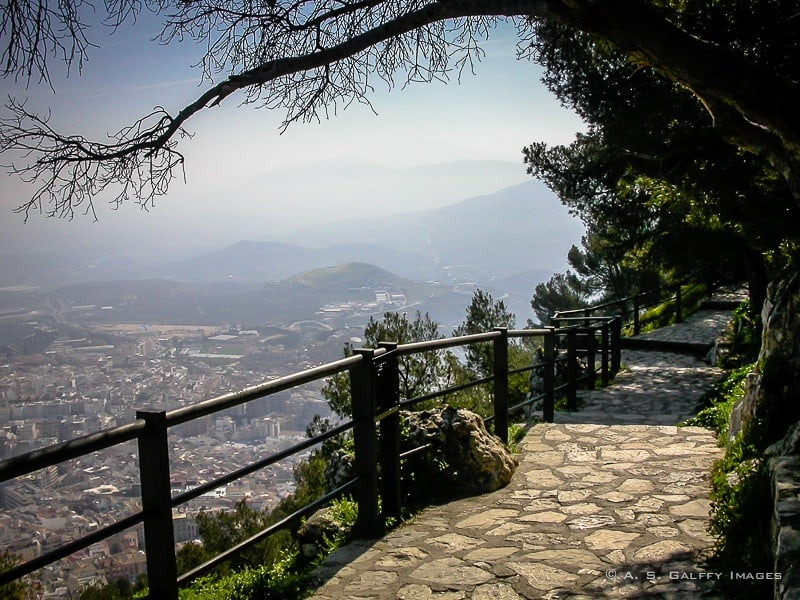 View of Jaen from Parador de Jaen