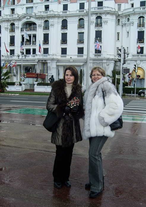 visiting Nice in winter