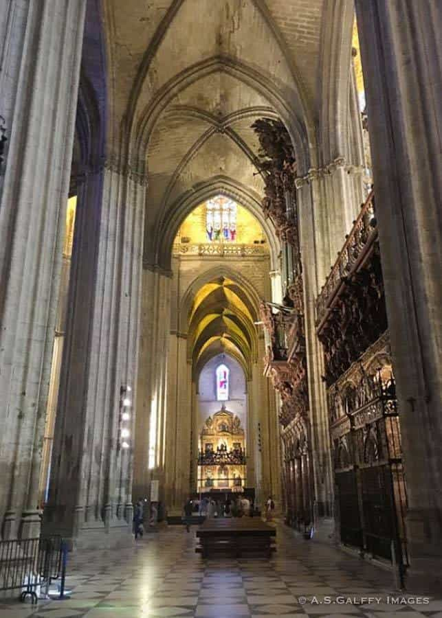 Cathedral of Seville main nave