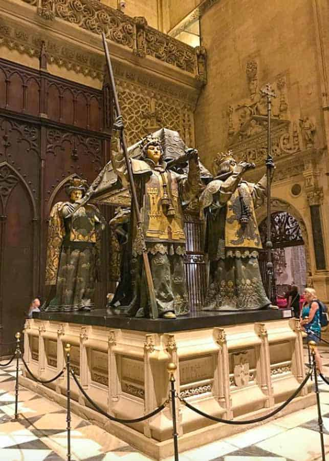 Columbus Tomb in the Cathedral