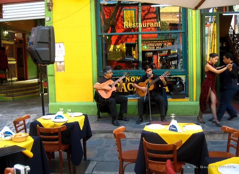La Boca neighborhood in Buenos Aires