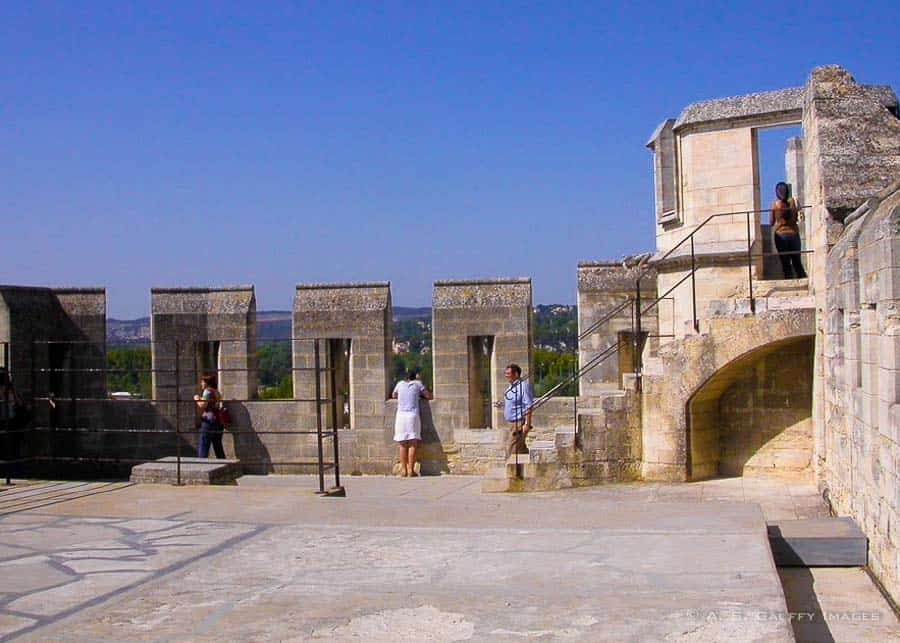 Rooftop Terrace at the Palace of the Popes