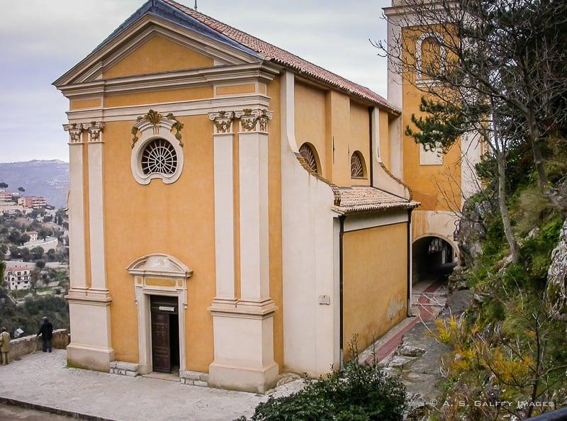 The Catholic Church in Eze Village