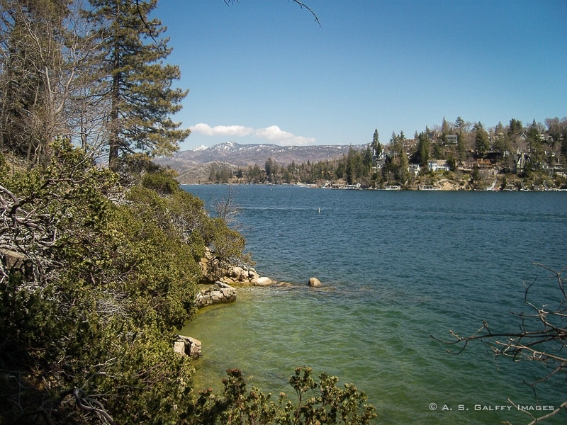 how to get to lake arrowhead