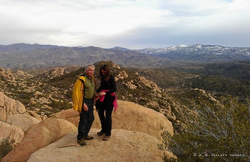 hiking the Pinnacles
