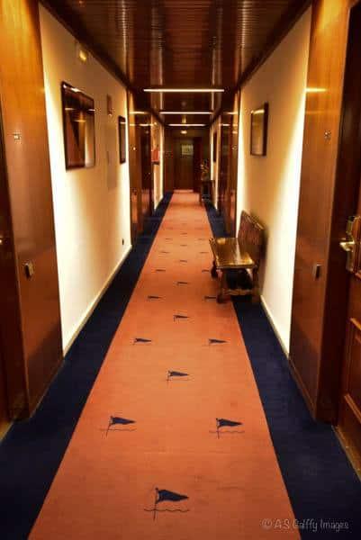 Santa Marta Hotel Corridor