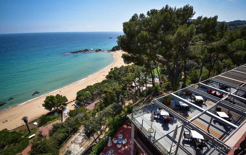 View from the room at Hotel Santa Marta in Lloret del Mar