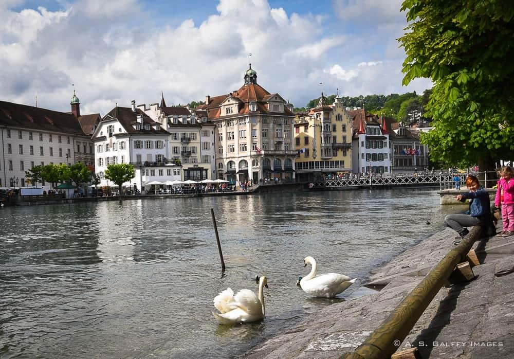 Switzerland Itinerary:  Lucerne