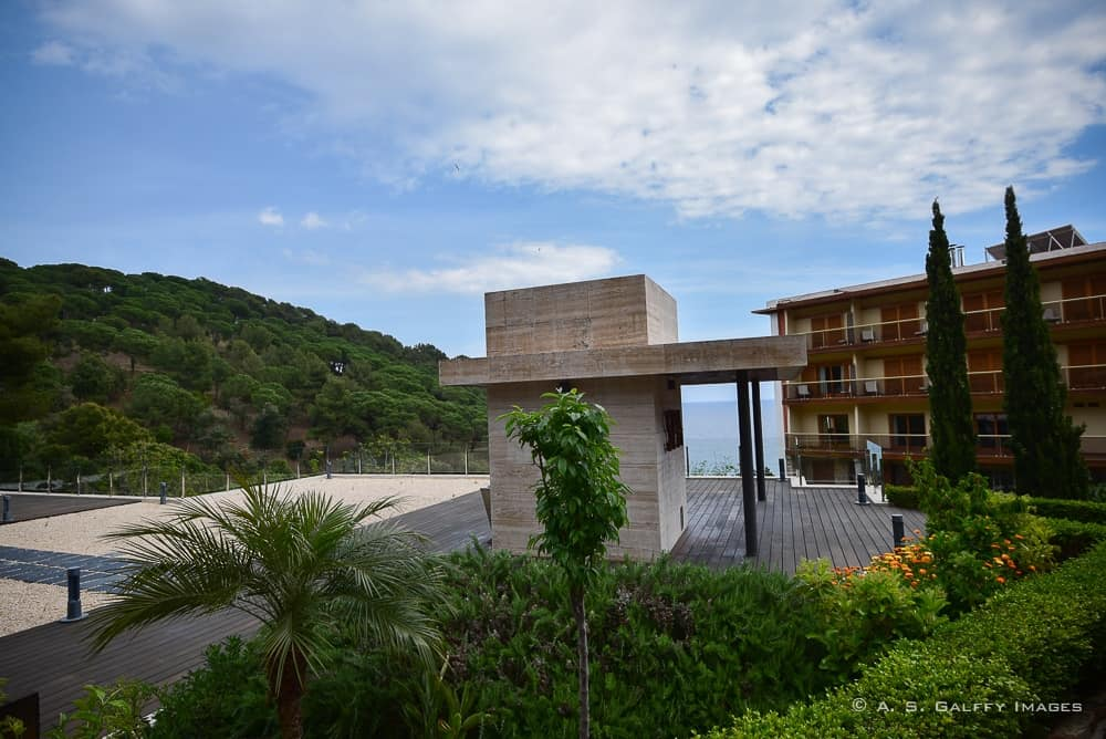 View of the Santa Marta Hotel in Lloret de Mar