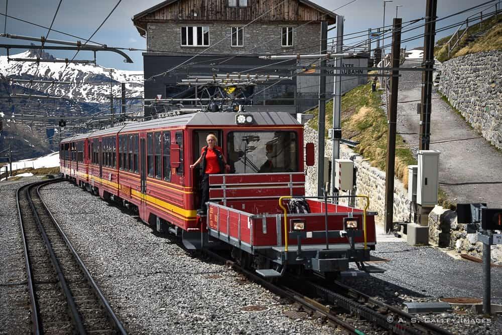 Cogwheel train to Jungfraujoch