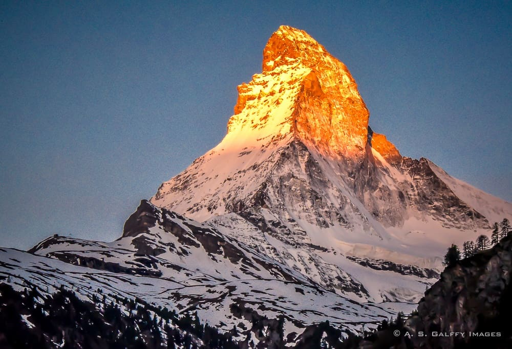 Conquering the Matterhorn: the Sweet/Bitter Taste of Glory