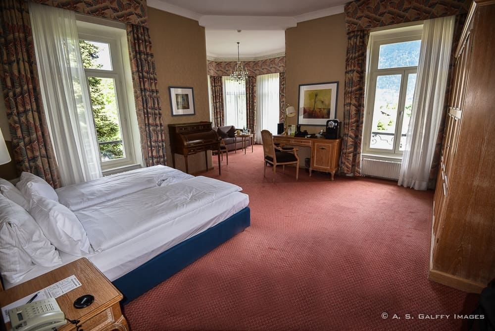 Room at Hotel Lidner Grand Beau Rivage