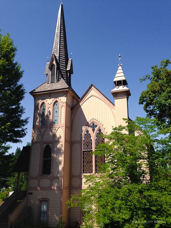 St. Andrew's Anglican Church in Jacksonville, oregon