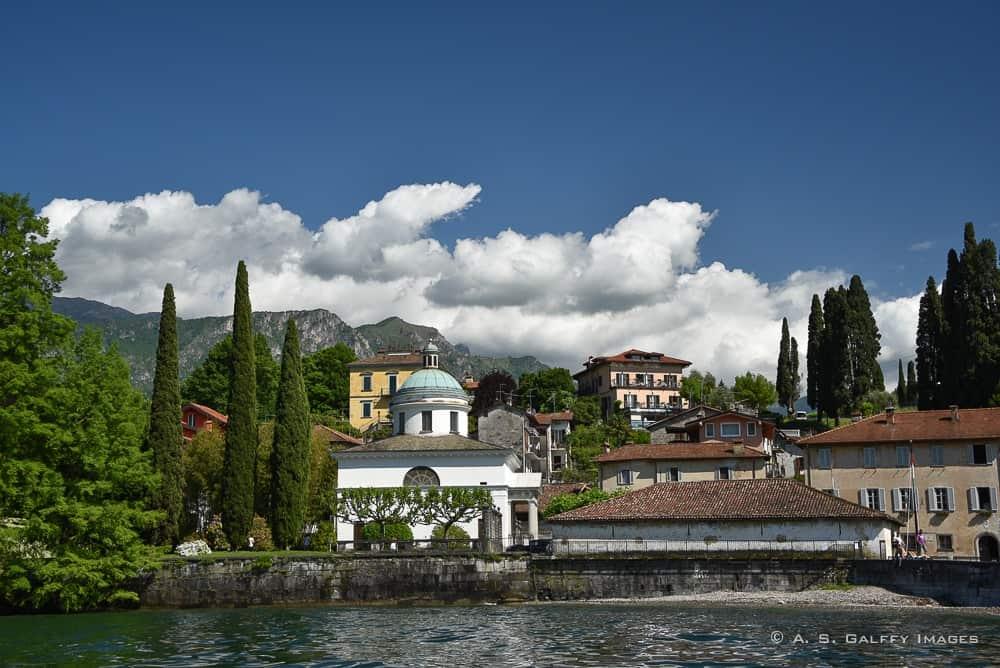 Villas on Lake Como