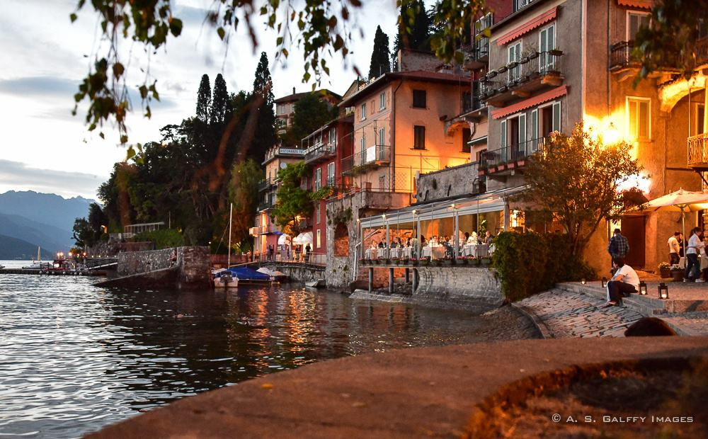 Evening in Varenna