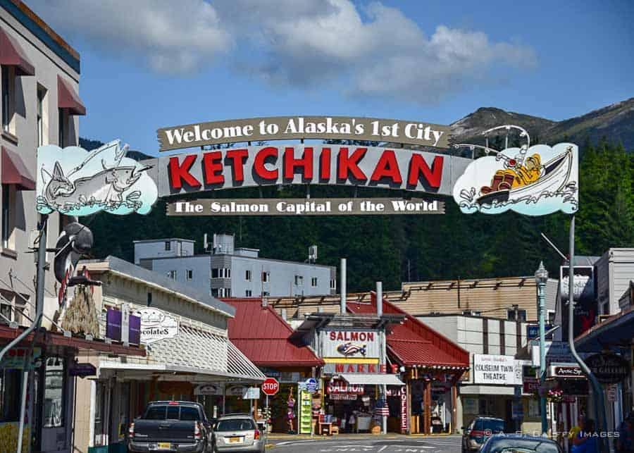 Ketchikan village, Alaska