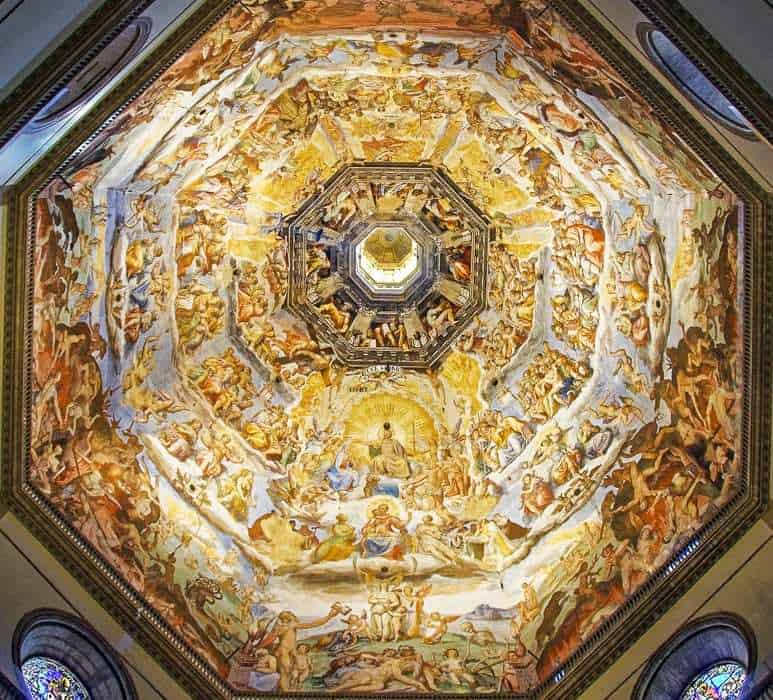 Ceiling of the Cathedral Dome