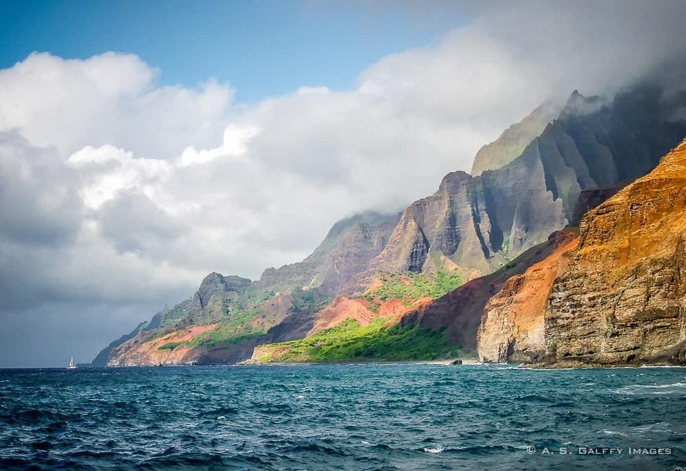 Na Pali Coast: unique place