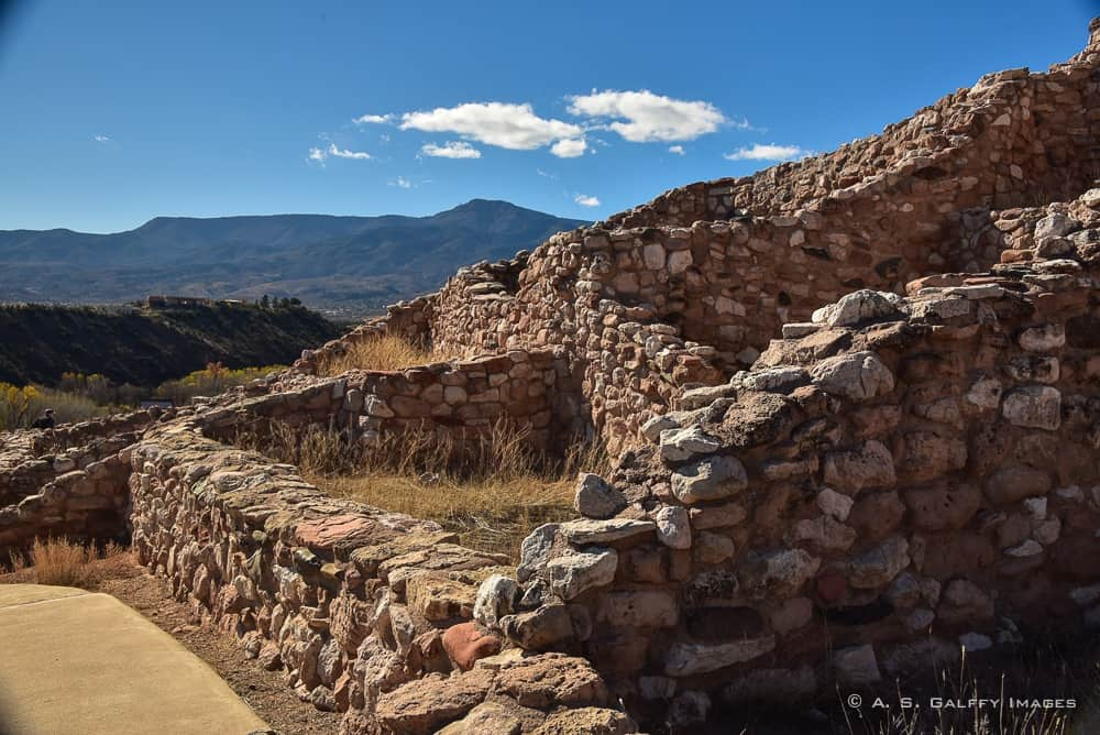Indian ruins at Tuzigoot