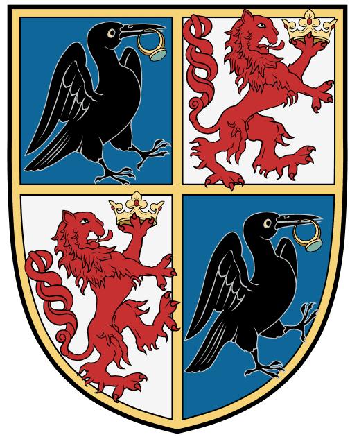 János Hunyadi's coat of arms