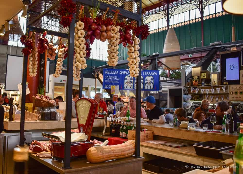 Image or Mercato Centrale in Florence