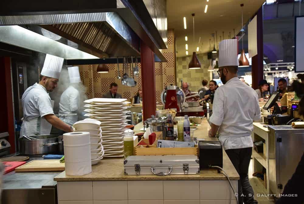 Mercato Centrale restaurants