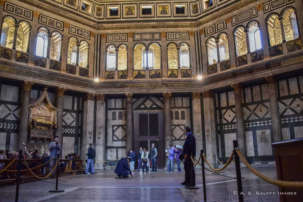 Visiting Florence's Baptistery