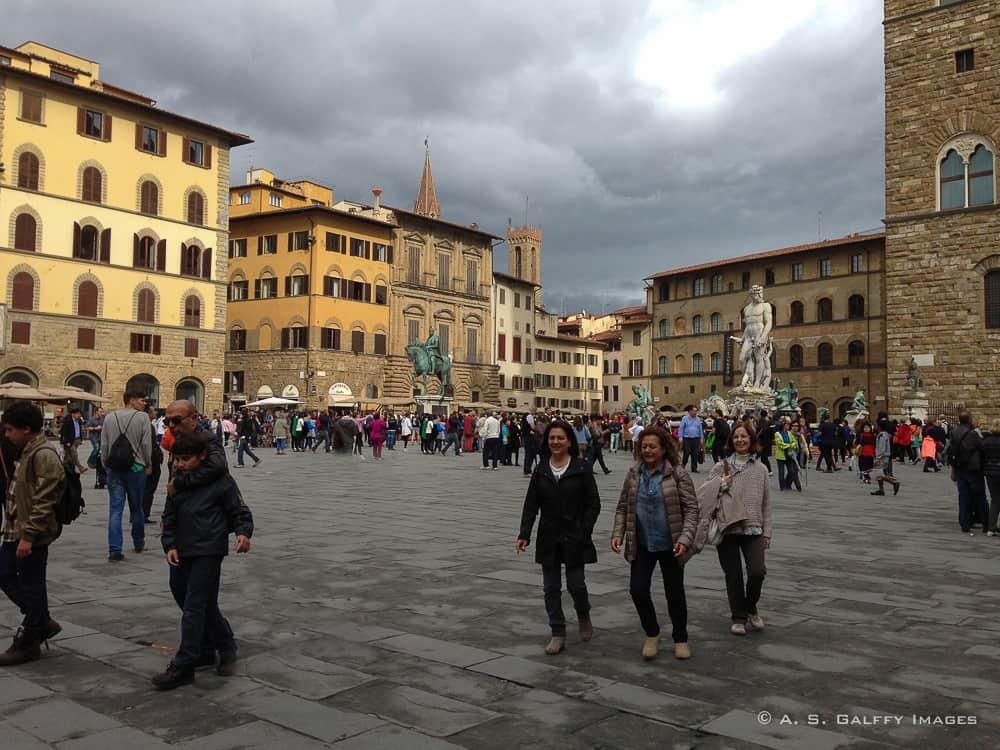 3 Days in Florence: Piazza della Signoria
