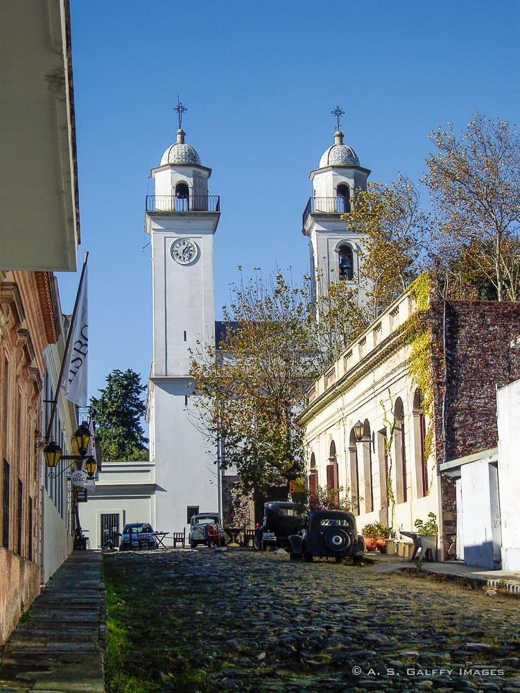 Basilica del Sagrado Sacramento in Colonia de Sacramento