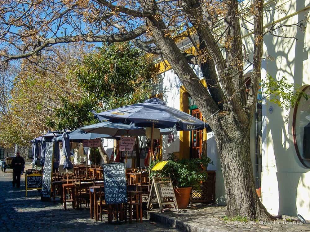 Little restaurant in Colonia de Sacramento