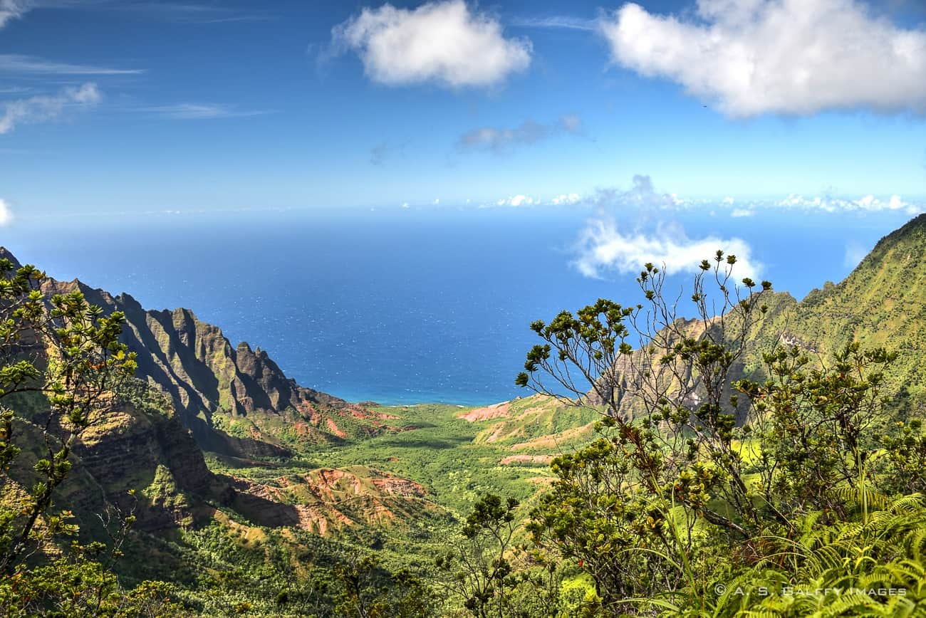 Pictures of Hawaii: Kalalau Valley