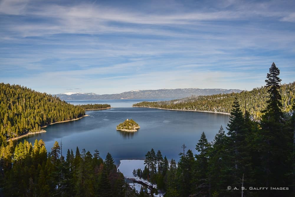 Emerald Bay - Things to do in Lake Tahoe in winter