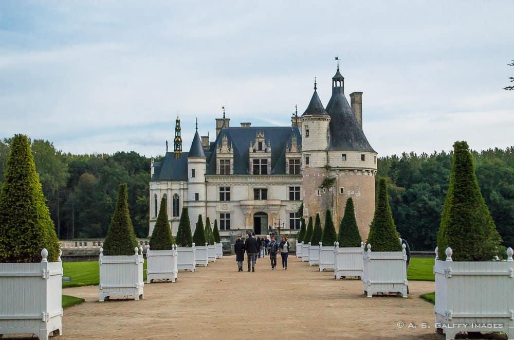 Château de Chenonceau entrance