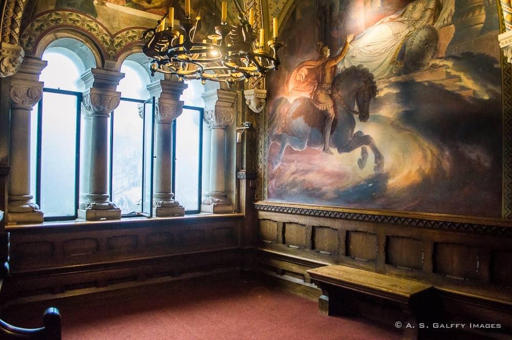 room in the Neuschwanstein castle