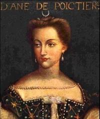 Diane de Poitier portrait at Château de Chenonceau