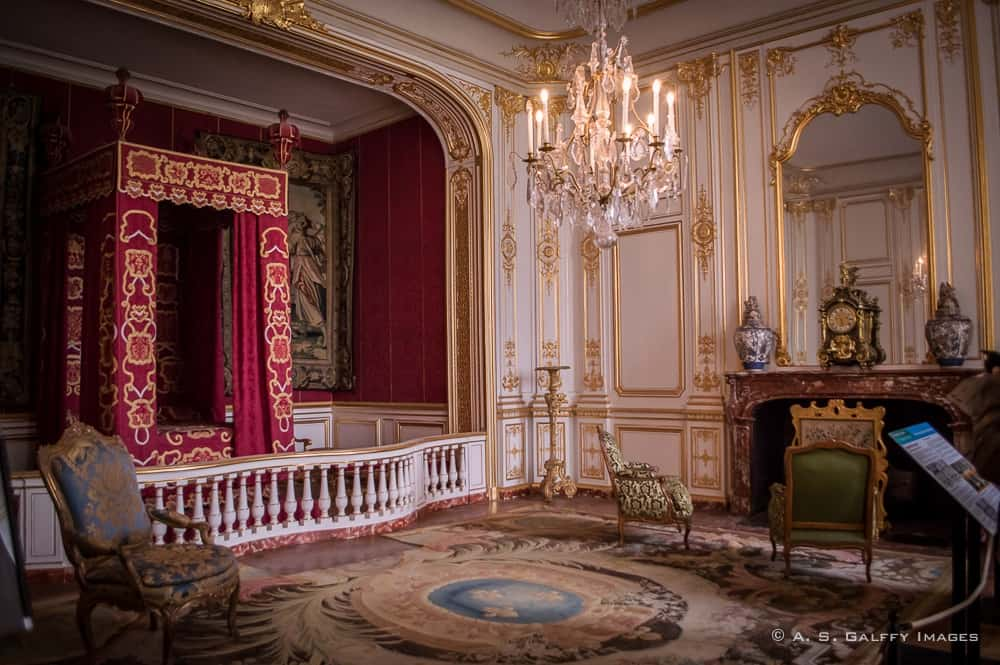 The Royal Bed Chamber at Château de Chambord