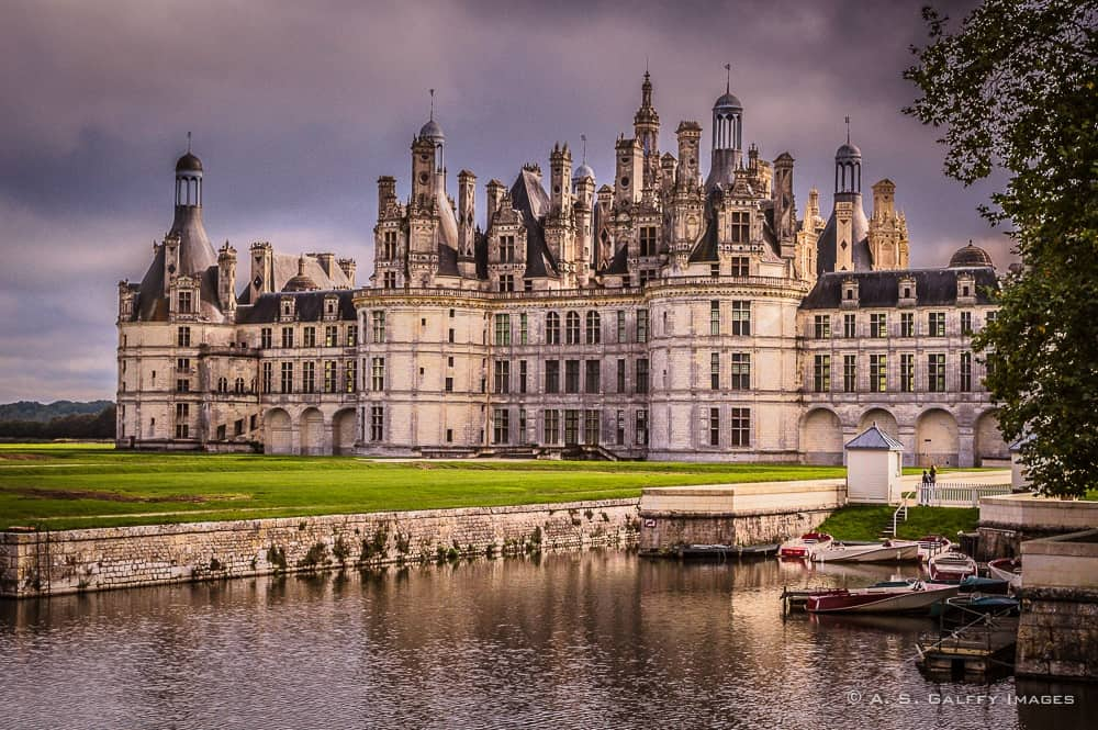 Ch teau de chambord a hunting lodge of gigantic proportions for Chambre chateau