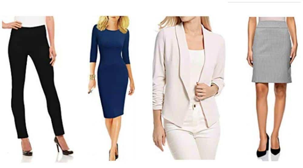 European attire for women - packing list for Europe