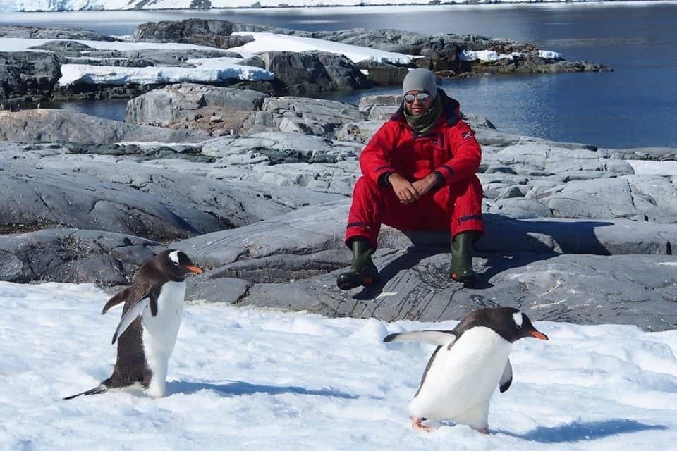 Amar Hussain Antarctica