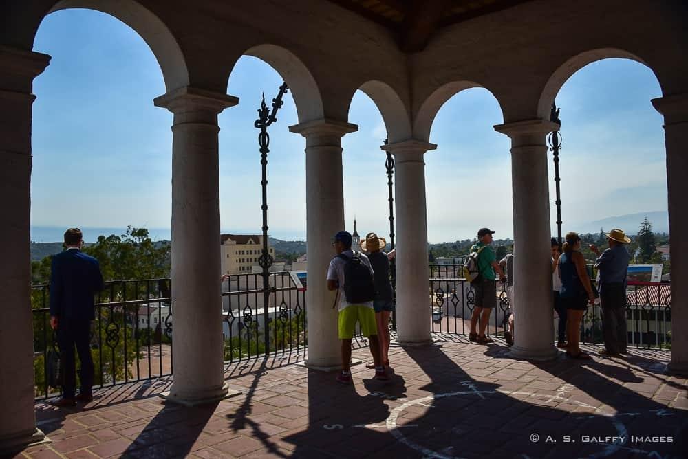 El Mirador clock tower, one of Santa Barbara attractions