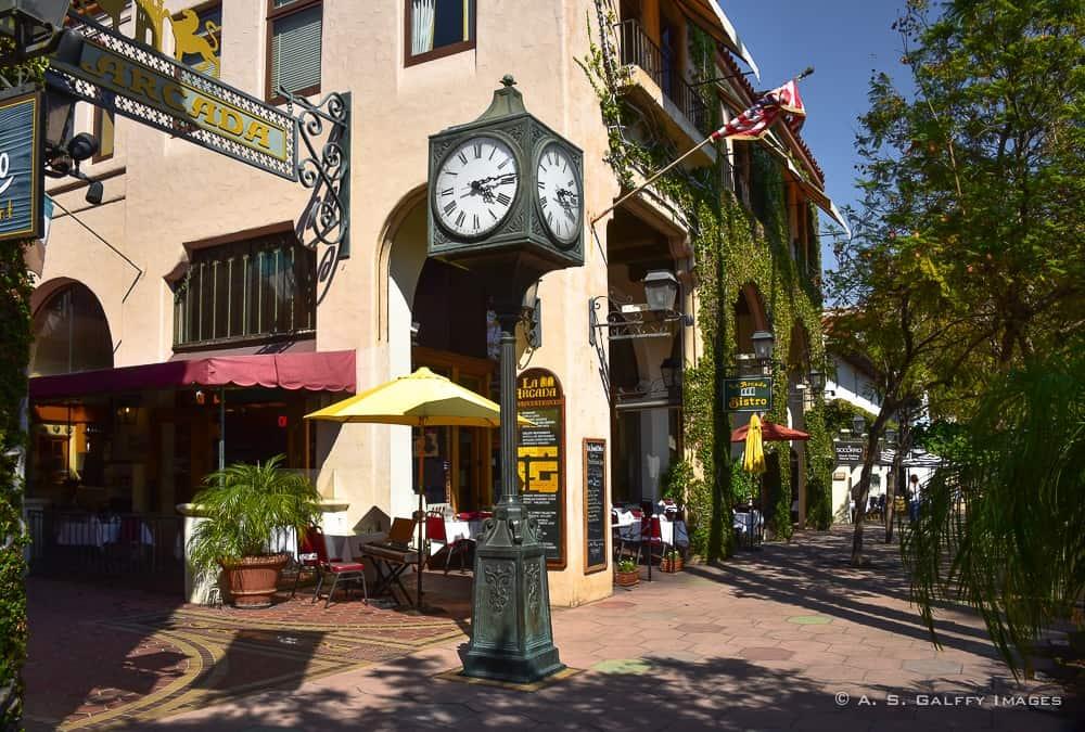 State Street in Santa Barbara