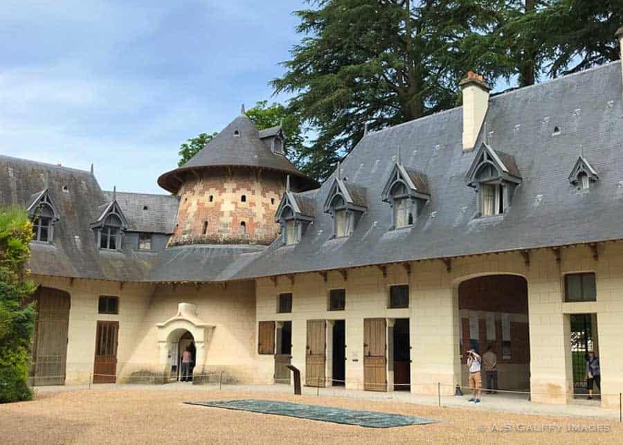 The stables at Chateau de Chaumont