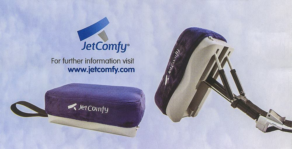 JetComfy pillow