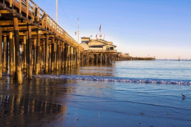 Santa Barbara pier - Los Angeles Weekend Getaway