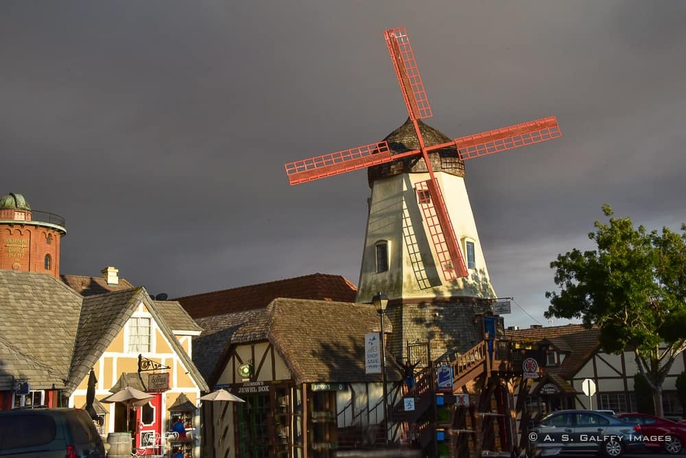 Windmills in Solvang