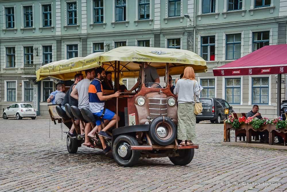 Beer Biking in Riga