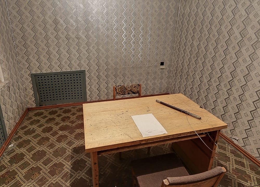 Image showing the Corner House interrogation room